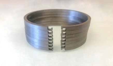 Verhaktem Stoß Kolbenringe für Turbolader