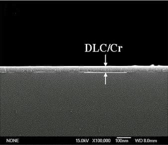 DLC-Cr Beschichtung bei Kolbenringe